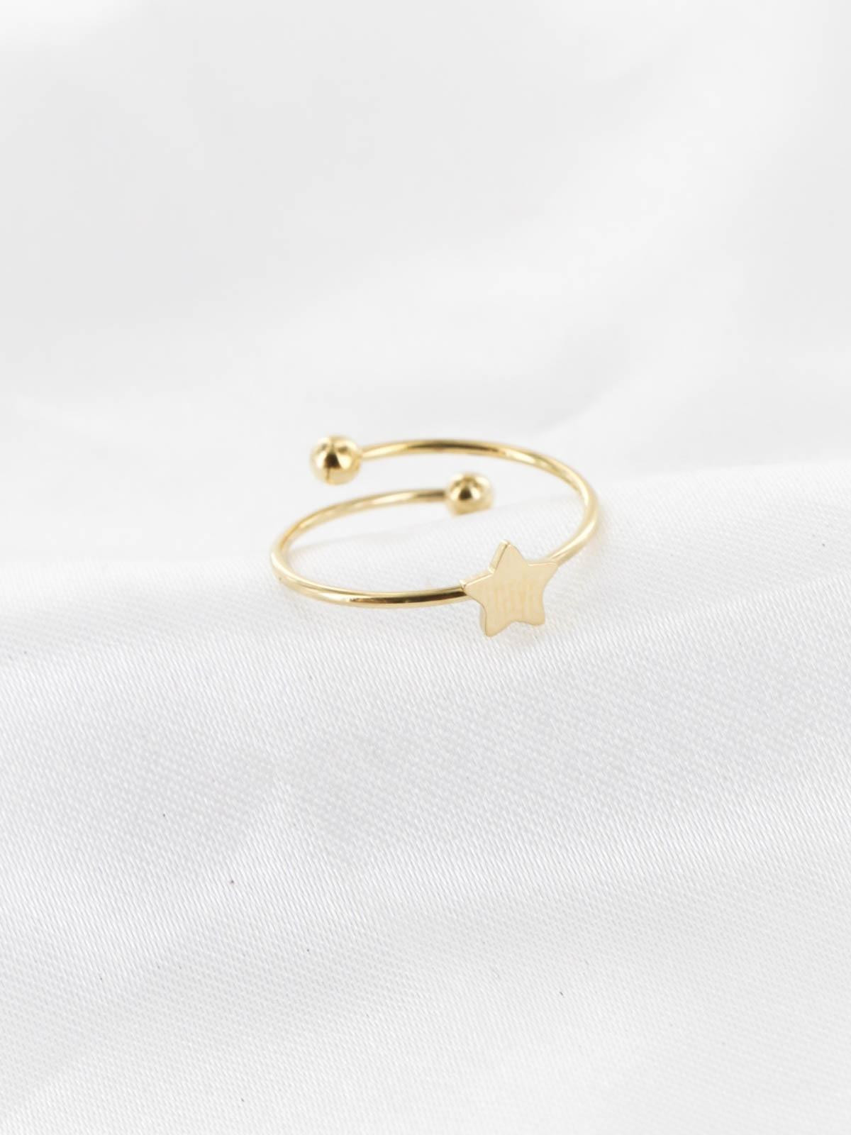 Bague Etoile Or