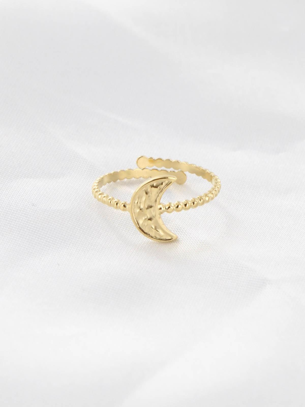 Bague Lune Or