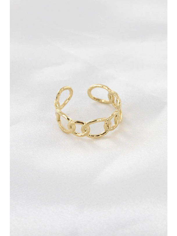 Bague Maille Or