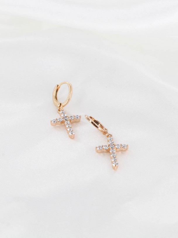 Boucles d'oreilles Andy Or