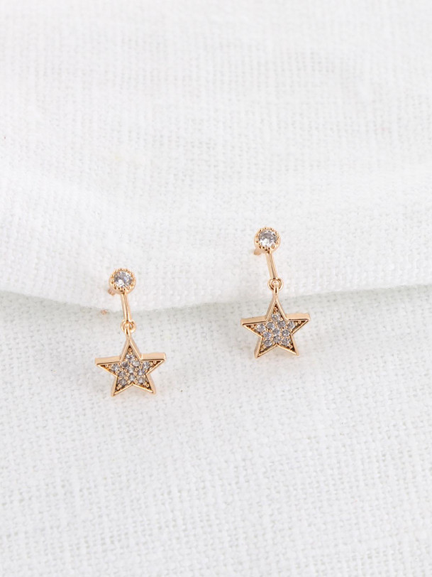 Boucles d'oreilles Starley Or
