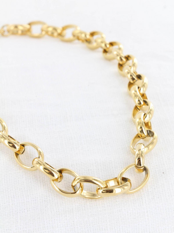 Collier Big Chaine Or