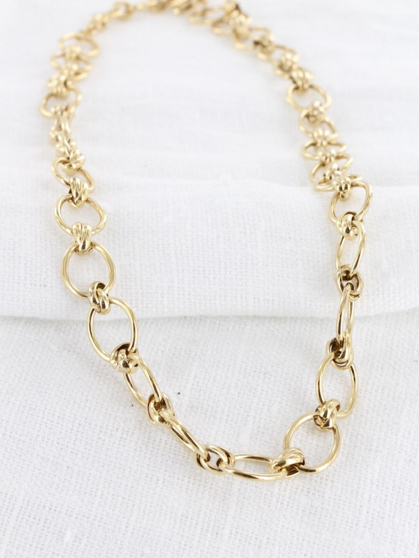 Collier Charon Maille Or