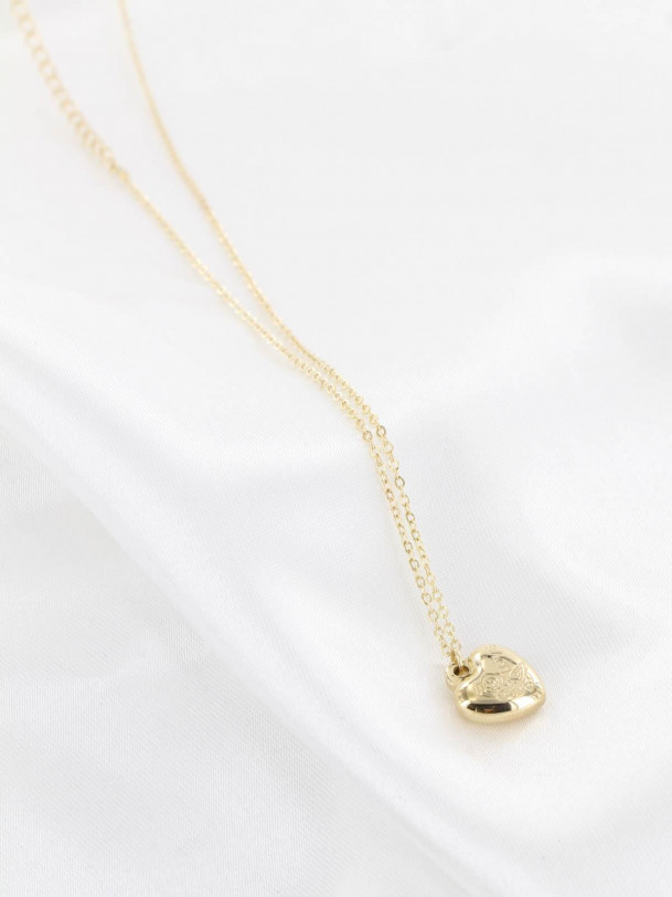Collier Petit Coeur Love Or
