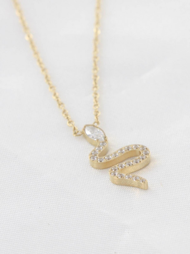 Collier Serpent Tam Or